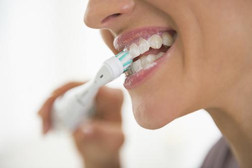 waterford dentist - brushing teeth